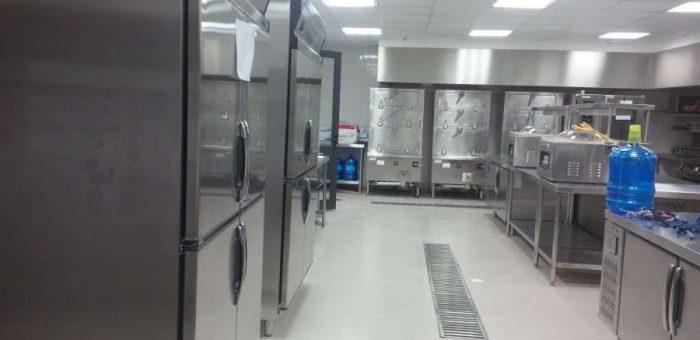 An Mỹ thi công lắp đặt hệ thống gas khu bếp Âu, Bếp Hầm, Bếp Á.