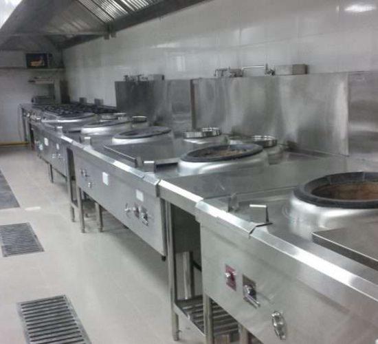 Bếp hầm của nhà hàng 5 Sao