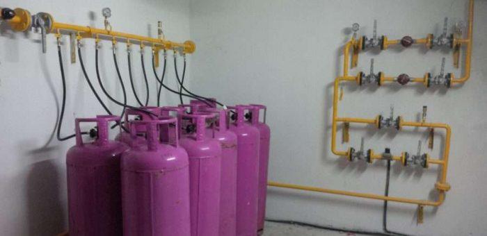 Thi công lắp đặt kho gas – 14 bình