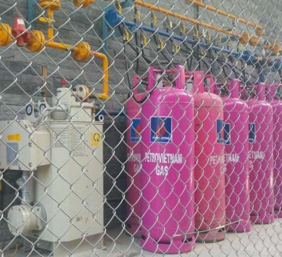 Kho chứa  20 bình Gas