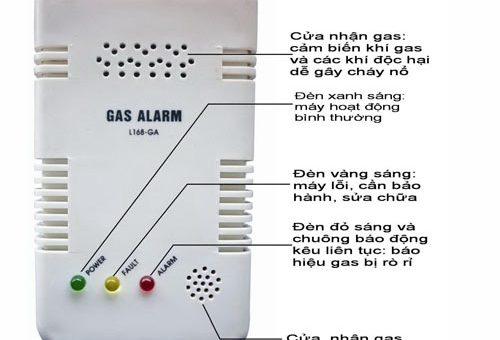 Công dụng các thiết bị báo rò rỉ gas ở nhà hàng