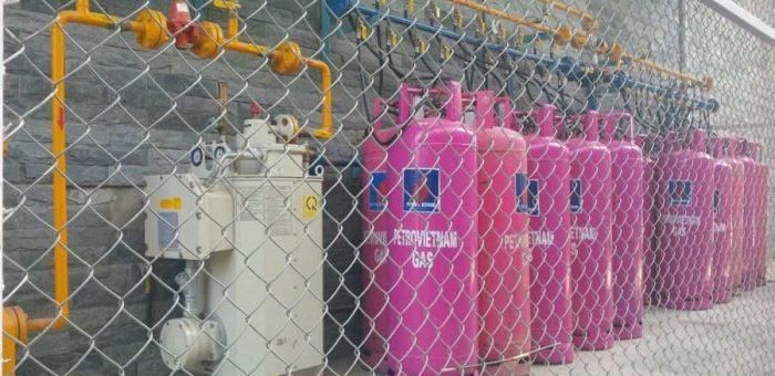 Kích thước bình gas công nghiệp như thế nào ?