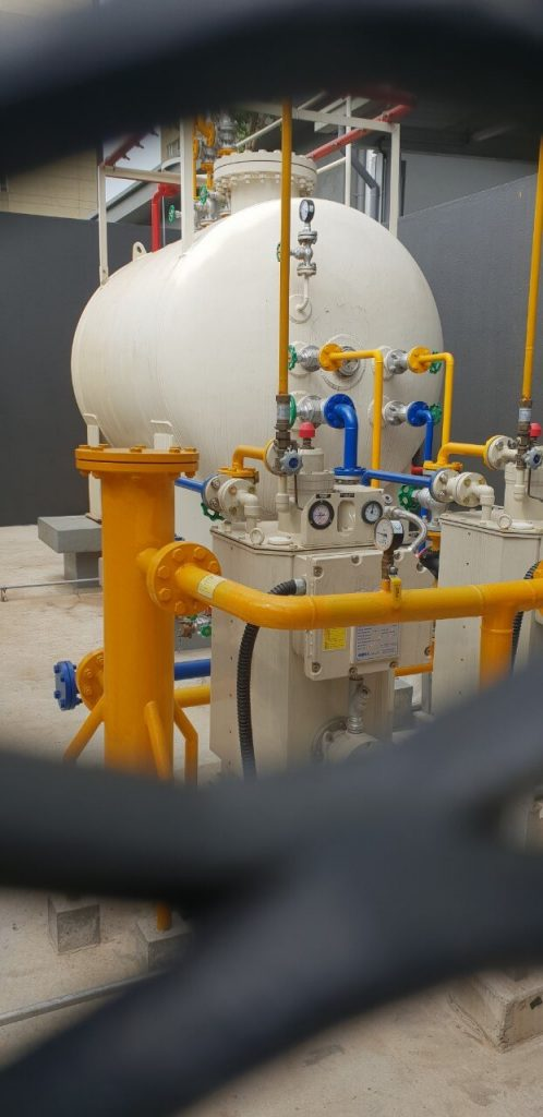 đơn vị lắp đặt hệ thống gas công nghiệp an mỹ