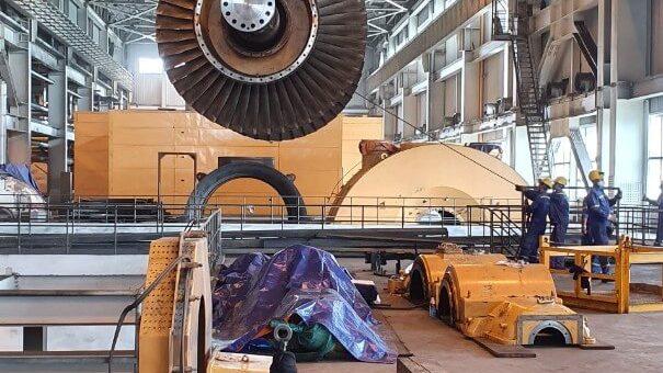 Hình ảnh lắp đặt hệ thống gas công nghiệp An Mỹ